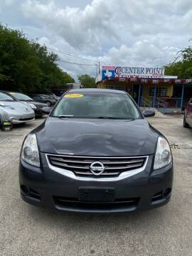 2010 Nissan Altima for sale at Centerpoint Motor Cars in San Antonio TX