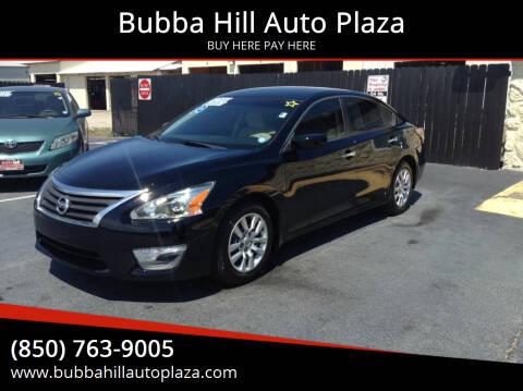 2014 Nissan Altima for sale at Bubba Hill Auto Plaza in Panama City FL