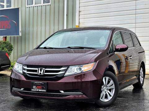 2014 Honda Odyssey for sale at Haus of Imports in Lemont IL