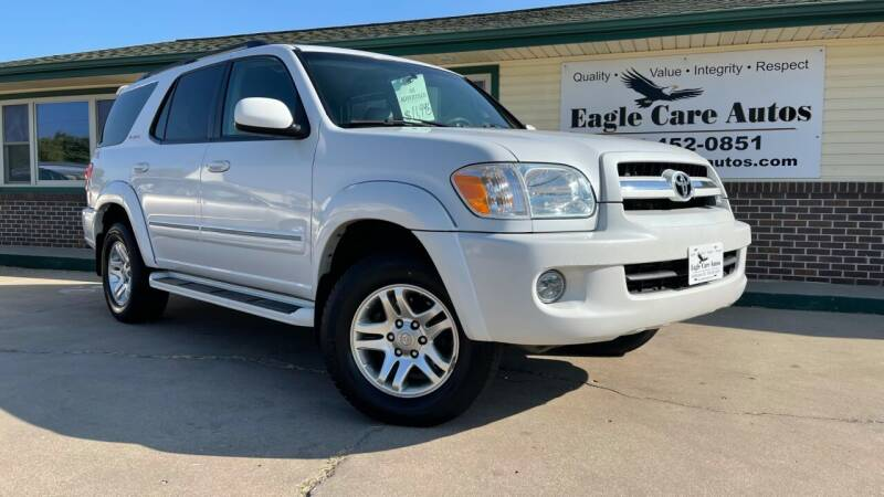 2006 Toyota Sequoia for sale at Eagle Care Autos in Mcpherson KS