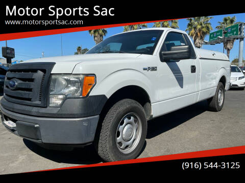 2012 Ford F-150 for sale at Motor Sports Sac in Sacramento CA