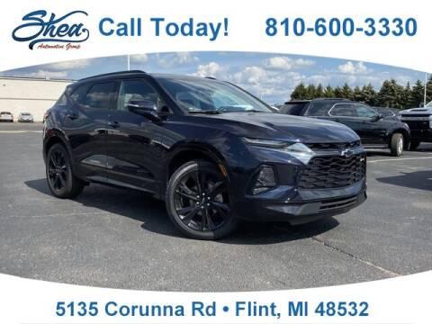 2020 Chevrolet Blazer for sale at Jamie Sells Cars 810 - Linden Location in Flint MI