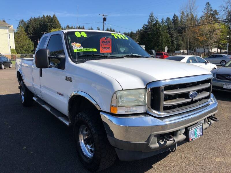 2004 Ford F-350 Super Duty for sale at Freeborn Motors in Lafayette, OR