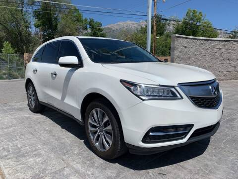 2014 Acura MDX for sale at Berge Auto in Orem UT
