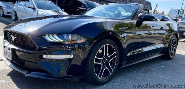 2019 Ford Mustang for sale at Steel Chariot in San Jose CA