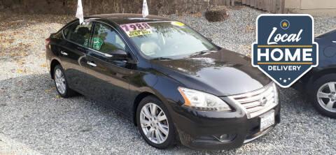 2014 Nissan Sentra for sale at AUCTION SERVICES OF CALIFORNIA in El Dorado CA