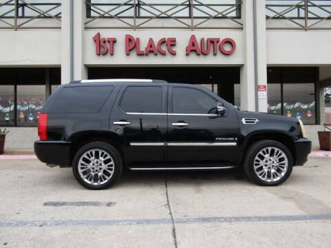 2009 Cadillac Escalade for sale at First Place Auto Ctr Inc in Watauga TX