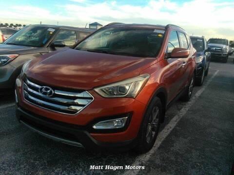 2013 Hyundai Santa Fe Sport for sale at Matt Hagen Motors in Newport NC