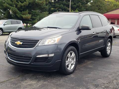 2013 Chevrolet Traverse for sale at Thompson Motors in Lapeer MI