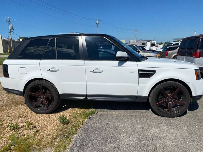 2012 Land Rover Range Rover Sport for sale at MJ'S Sales in Foristell MO