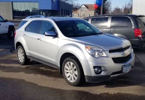 2010 Chevrolet Equinox for sale at Tower Motors in Brainerd MN