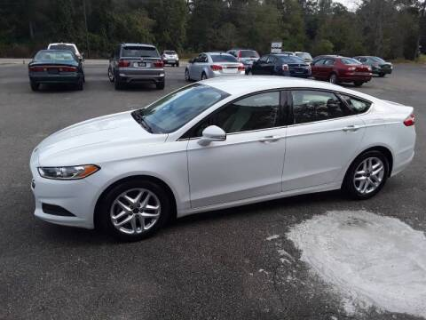 2016 Ford Fusion for sale at WALKER MOTORS LLC in Hattiesburg MS