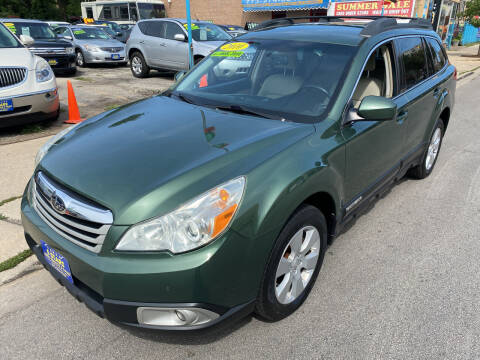 2010 Subaru Outback for sale at 5 Stars Auto Service and Sales in Chicago IL