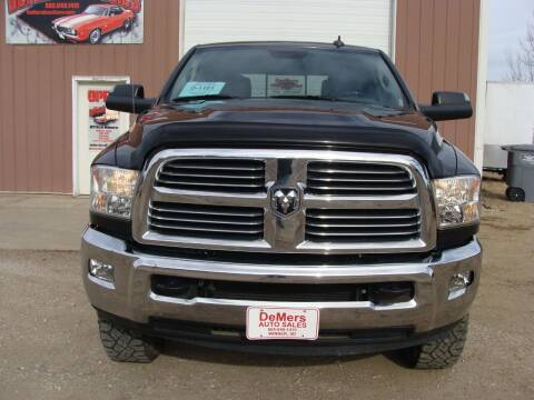 2013 RAM Ram Pickup 2500 for sale at DeMers Auto Sales in Winner SD