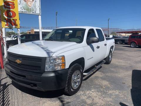 2012 Chevrolet Silverado 1500 for sale at Robert B Gibson Auto Sales INC in Albuquerque NM