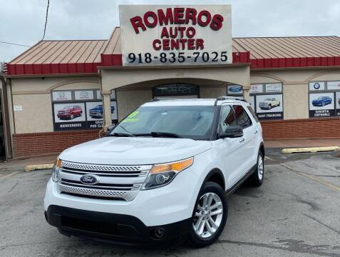 2013 Ford Explorer for sale at Romeros Auto Center in Tulsa OK