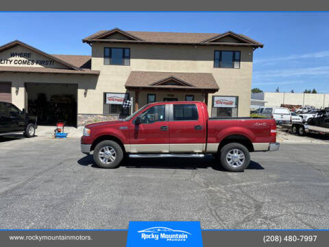 2007 Ford F-150 for sale at Rocky Mountain Motors in Idaho Falls ID