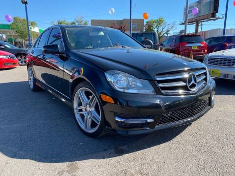 2014 Mercedes-Benz C-Class for sale at New Wave Auto Brokers & Sales in Denver CO