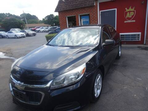 2014 Chevrolet Malibu for sale at AP Automotive in Cary NC