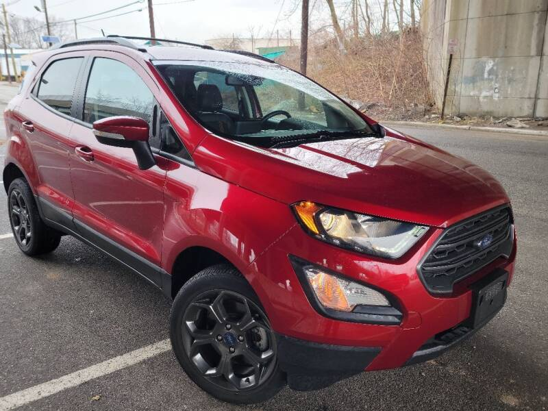 2018 Ford EcoSport for sale at Giordano Auto Sales in Hasbrouck Heights NJ