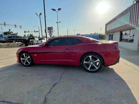 2015 Chevrolet Camaro for sale at Southwest Sports & Imports in Oklahoma City OK