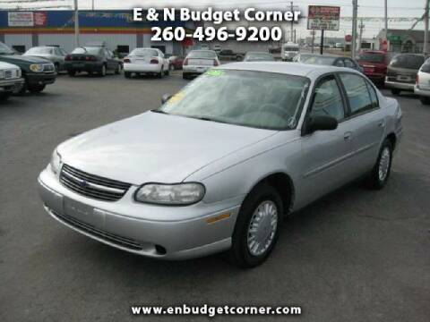 2003 Chevrolet Malibu for sale at Budget Corner in Fort Wayne IN