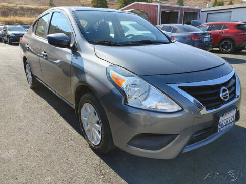 2018 Nissan Versa for sale at Guy Strohmeiers Auto Center in Lakeport CA