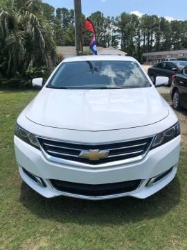 2016 Chevrolet Impala for sale at Gralin Hampton Auto Sales in Summerville SC