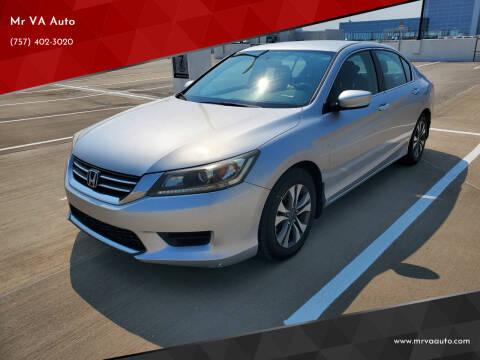 2013 Honda Accord for sale at Mr VA Auto in Chesapeake VA