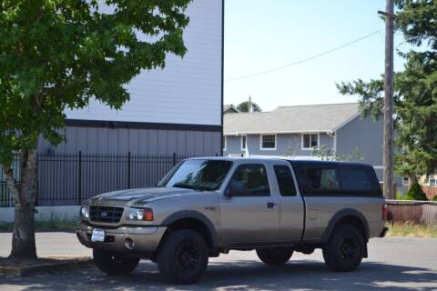 2003 Ford Ranger for sale at Skyline Motors Auto Sales in Tacoma WA