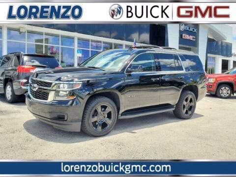 2018 Chevrolet Tahoe for sale at Lorenzo Buick GMC in Miami FL
