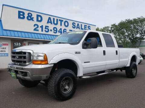 2001 Ford F-350 Super Duty for sale at B & D Auto Sales Inc. in Fairless Hills PA