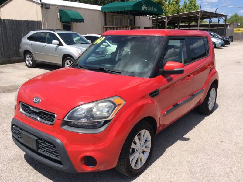 2013 Kia Soul for sale at OASIS PARK & SELL in Spring TX