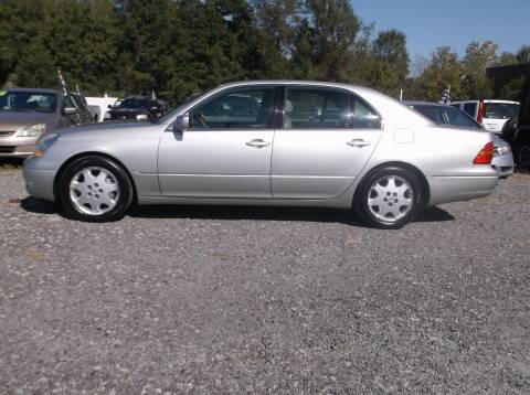 2003 Lexus LS 430 for sale at Car Check Auto Sales in Conway SC
