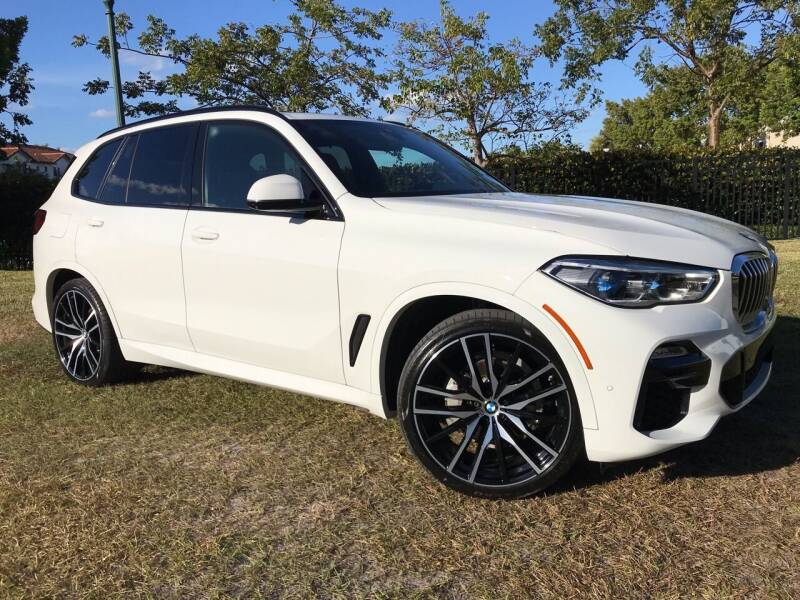2019 BMW X5 for sale at Kaler Auto Sales in Wilton Manors FL