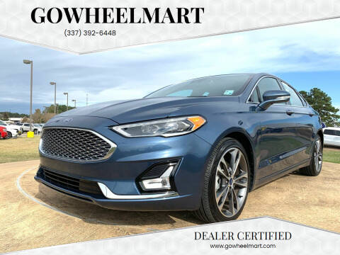 2019 Ford Fusion for sale at GoWheelMart in Leesville LA