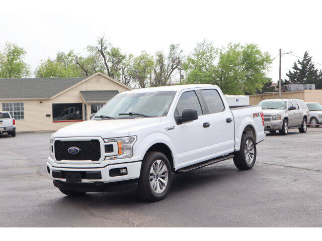 2018 Ford F-150 for sale at Terry Halbert Auto Sales in Yukon OK