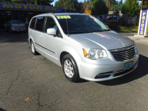 2012 Chrysler Town and Country for sale at Brooks Motor Company, Inc in Milwaukie OR