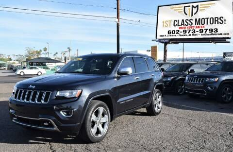 2014 Jeep Grand Cherokee for sale at 1st Class Motors in Phoenix AZ