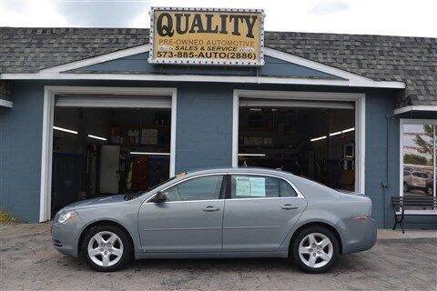 2009 Chevrolet Malibu for sale at Quality Pre-Owned Automotive in Cuba MO