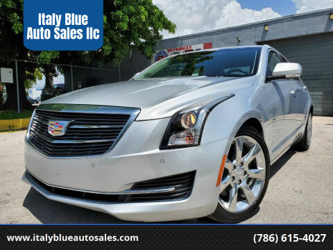 2015 Cadillac ATS for sale at Italy Blue Auto Sales llc in Miami FL