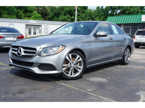 2016 Mercedes-Benz C-Class for sale at Maroney Auto Sales in Humble TX