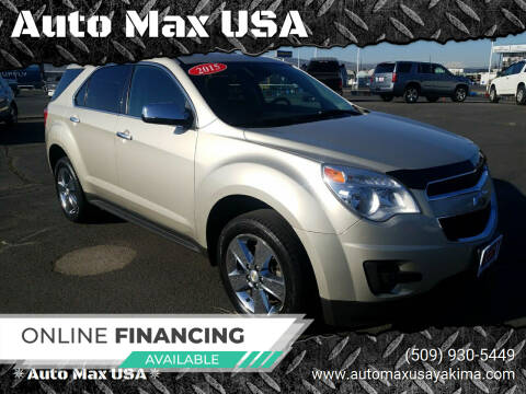 2015 Chevrolet Equinox for sale at Auto Max USA in Yakima WA