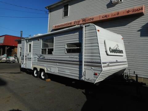 2002 Coachmen Catalina lite for sale at Automotive Toy Store LLC in Mount Carmel PA