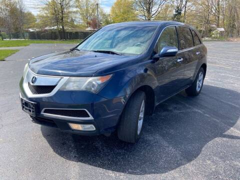 2010 Acura MDX for sale at TKP Auto Sales in Eastlake OH