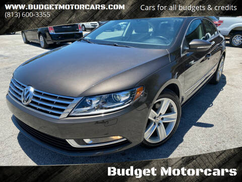 2013 Volkswagen CC for sale at Budget Motorcars in Tampa FL