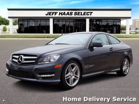 2013 Mercedes-Benz C-Class for sale at JEFF HAAS MAZDA in Houston TX