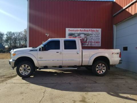 2013 Ford F-250 Super Duty for sale at Countryside Auto Body & Sales, Inc in Gary SD