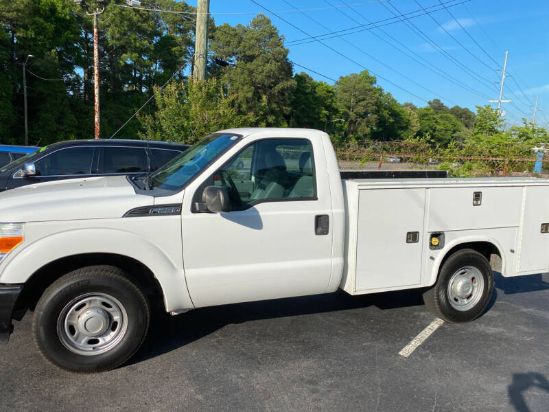 2011 Ford F-250 Super Duty for sale at TOP OF THE LINE AUTO SALES in Fayetteville NC