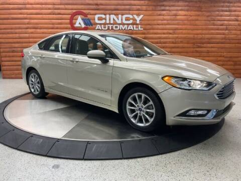 2017 Ford Fusion Hybrid for sale at Dixie Motors in Fairfield OH